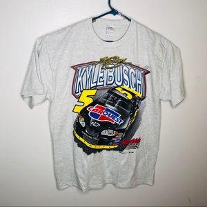 2005 Kyle Busch Carquest NASCAR T Shirt Size X-L
